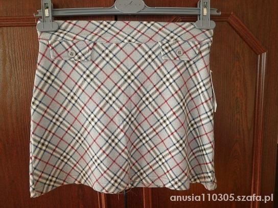 Spódnice Spódniczka w kratkę burberry NOWA
