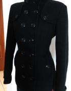 Świetny płaszczyk XL czarny