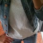 Koronka biala bluzeczka