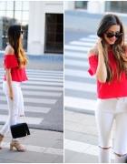 Czerwono biały zestaw