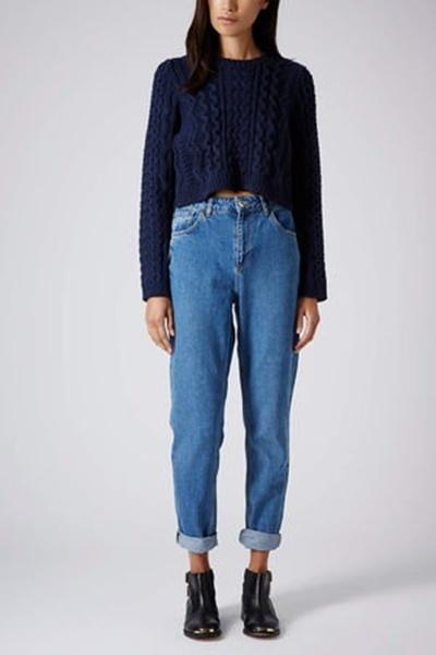 spodnie boyfriend mom jeans