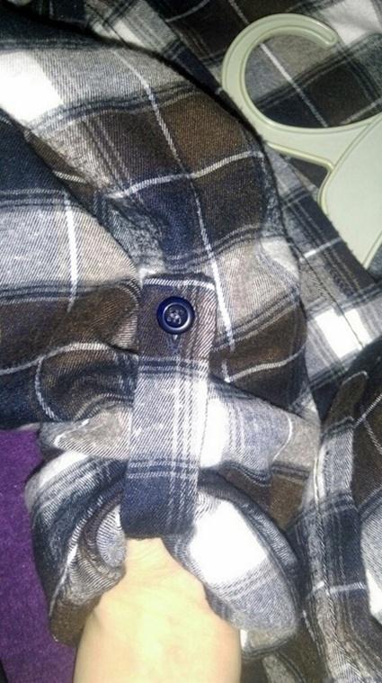 Flanelowa koszula w krate miła w dotyku grunge w Koszule  EK2o4
