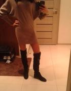 Tunika sukienka sweterek