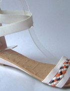 rozne rozmiary NOWE SANDAŁKI płaskie sandały