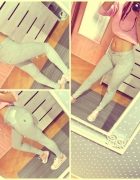 legginsy push up