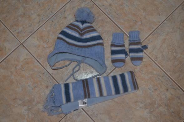 Komplety Czapka szalik rękawiczki H&M 2 6 mc