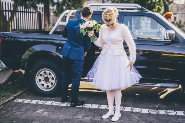 Na specjalne okazje Ślub zimowy