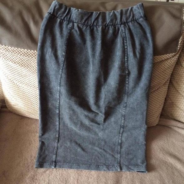 Spódnice Dżinsowa ołówkowa długa spódnica