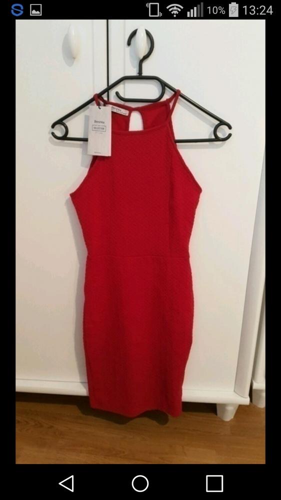 Pilnie poszukiwana czerwona sukienka bershka...