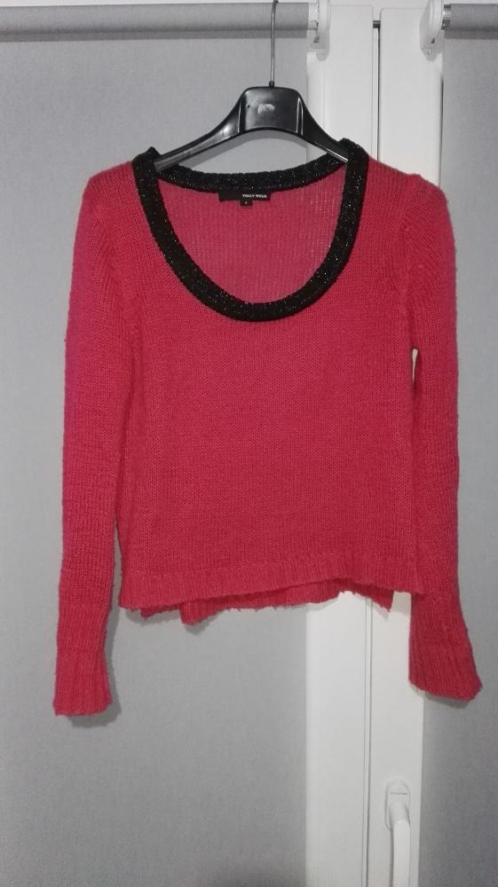 Swetry Różowy Sweterek