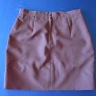 sliwkowa spódnica ołówkowa
