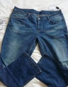 spodnie lato 44 46 jeans jak guess lee