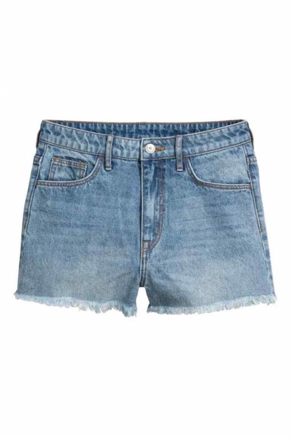 Szorty dżinsowe High waist...
