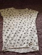 koszulka prosto zodiak L XL biała limited...