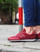 New Balance 410 bordowe