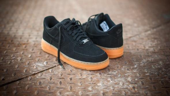 Nike air Force 1 07 Suede Black DAMSKIE 365 w Obuwie Szafa.pl