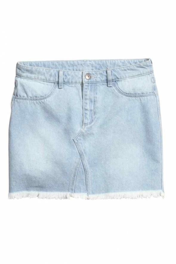 Spódnice Krótka spódniczka dżinsowa H&M