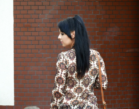 Mój styl Koszula z motywem orientalnym