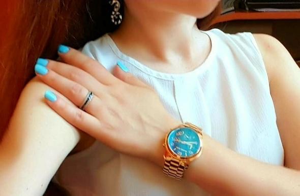 Zegarek Michael Kors MK5913 różowe złoto