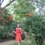 Czerwona sukienka hiszpanka