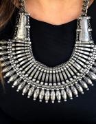 H&M Piękny naszyjnik silver