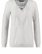 sweter sznurowany dekolt perkins...