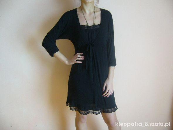 Piękna dzianinowa sukienka XL