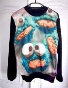 Bluza ciasteczkowy potwór