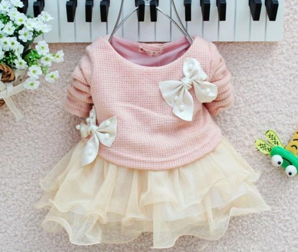 Prawdziwe zdjęcia sukienka tunika dl dziewczynki