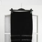 Neoprenowa spódnica z siateczką