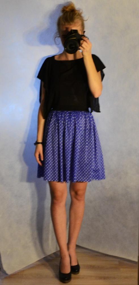 Mój styl Blue Minnie