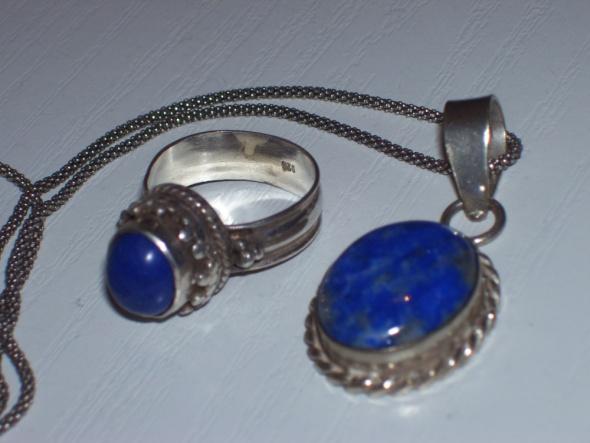 Lapis Lazuli & Srebro