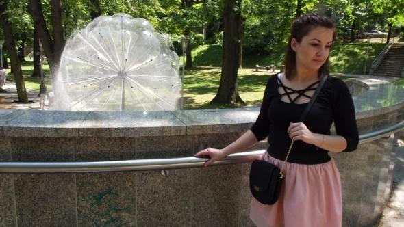 Eleganckie Morelkowa spódniczka