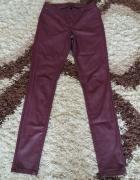Skórzane spodnie Vero Moda rozm XS