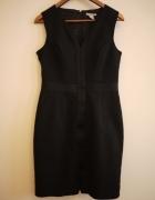 Czarna sukienka H&M elegancka 40