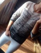 Sweterek ombre ciepły