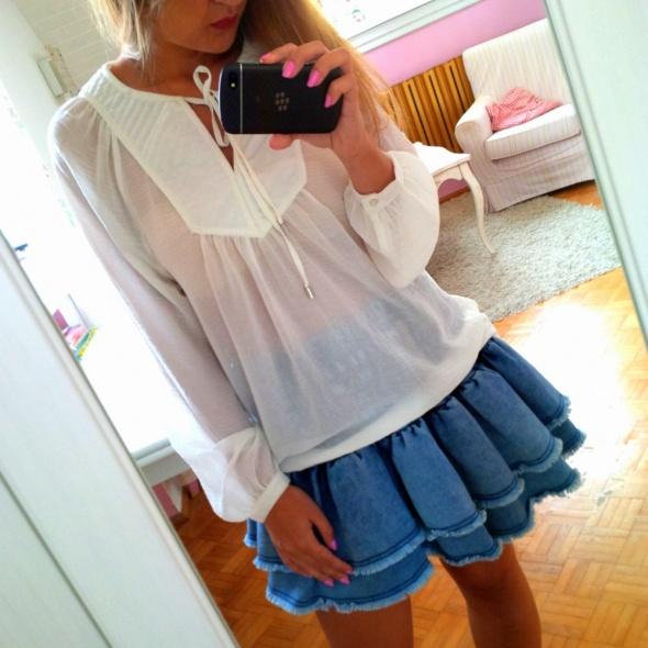 Mój styl biało jeansowo
