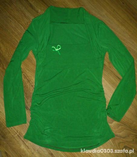 zielona tunika z bolerkiem M