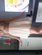sukienka Cekiny zwiewna xs s