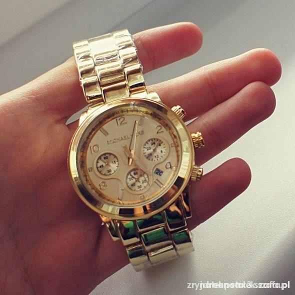zegarek mk zloty