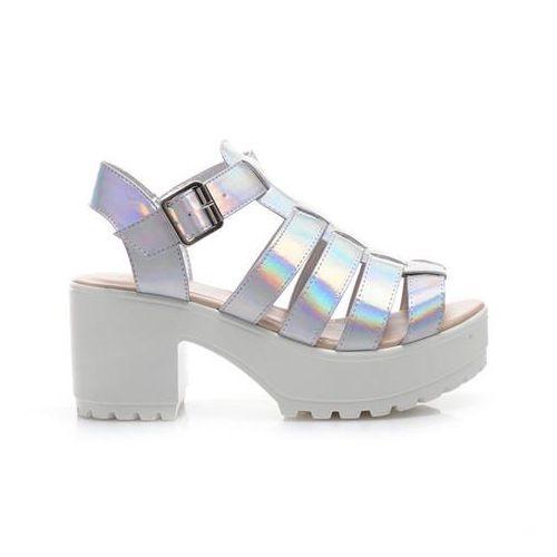 Sandały Sandały holograficzne DeeZee rozmiar 39