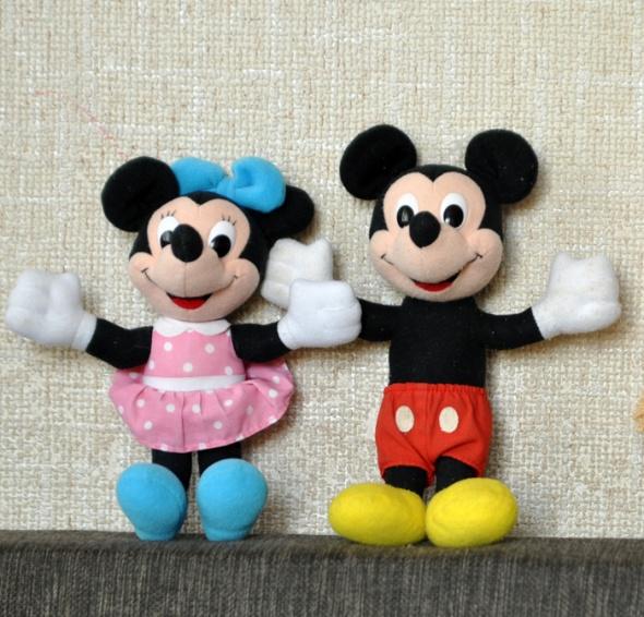 Zabawki maskotki myszka mickey i mini Disney