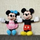 maskotki myszka mickey i mini Disney