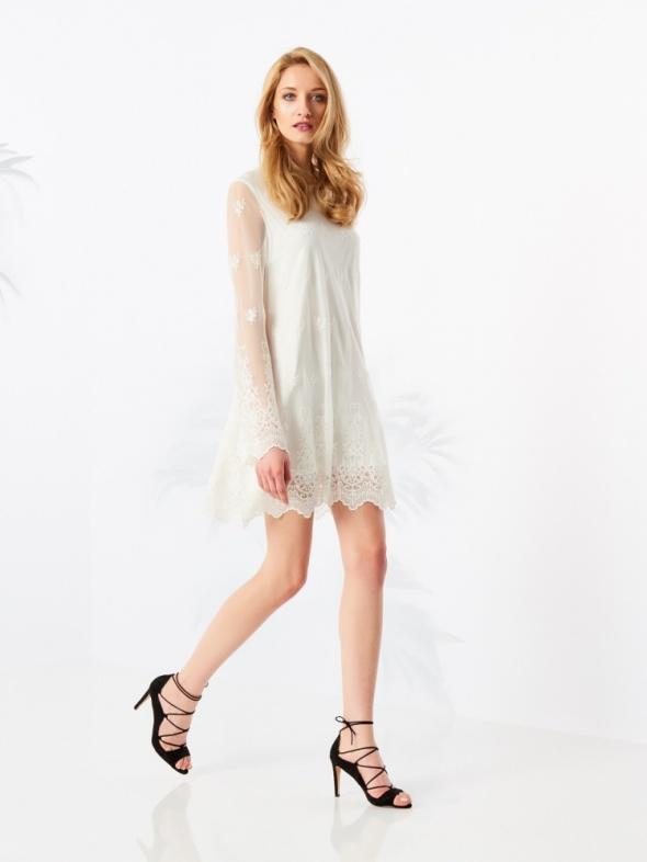 Ubrania Koronkowa sukienka Mohito