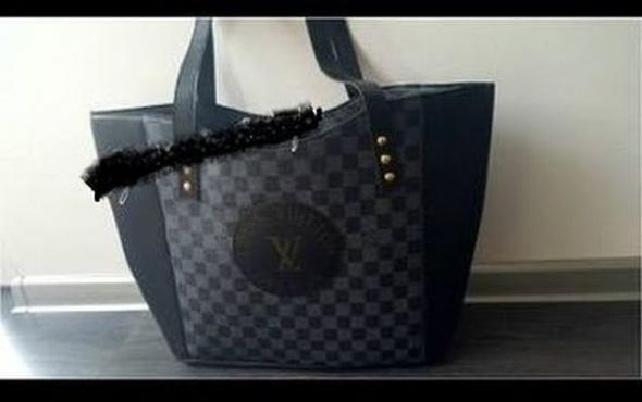 Dodatki Torebka LV shopper bag