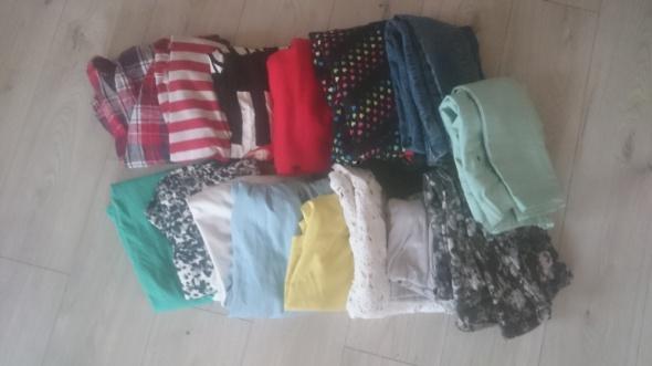 Bluzki Zestaw ubrań 15bluzkispódnicespodniesukienki