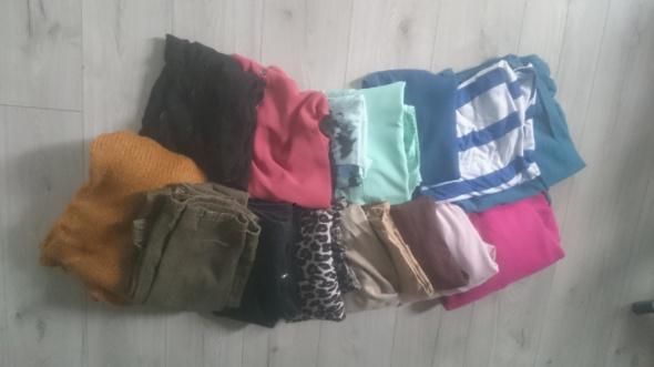 Bluzki Zestaw ubrań 16 sztuk bluzki spodnie spódniczki