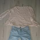 Zestaw bluzki spodnie spódnica