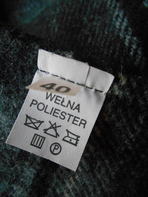 wełniana Spódnica 40 L w kratkę na zimę w Spódnice Szafa.pl