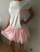 hit śliczna sukienka tiulowa spódnica